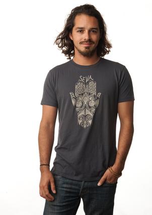 Be Love Mens T-Shirt Seva is Service