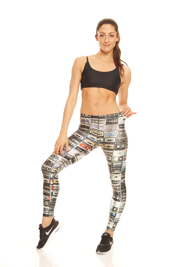 Zara Terez Performance Yoga Leggings Mixtapes