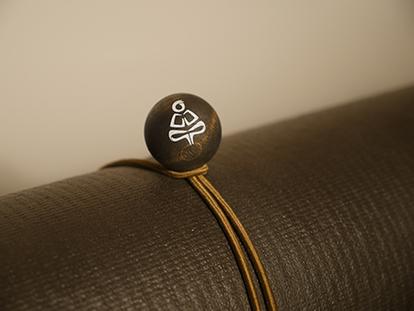 Yoga Mat Tie Olive Bungee Dark Stain