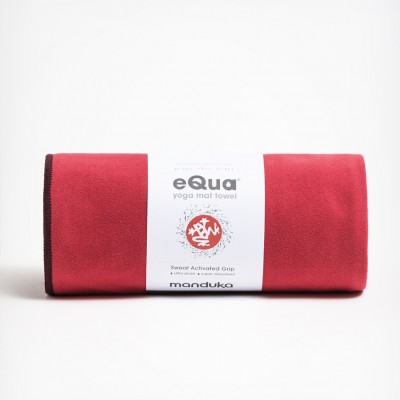 Manduka Equa Yoga Mat Towel Passion
